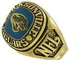 Balfour Ring Football Nfl Team Jacksonville Jaguars Sz 7.5