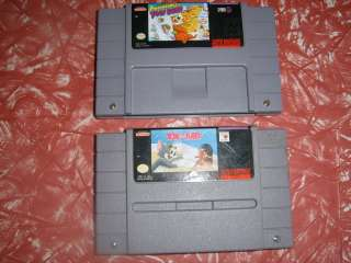 SNES GAMES, ADVENTURES OF YOGI BEAR AND TOM AND JERRY TESTED