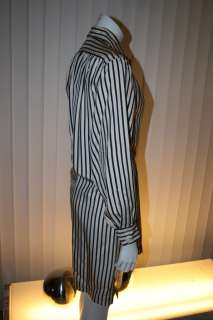 SAINT LAURENT Vtg Women Oversized Balloon Pajama DRESS Sz M L