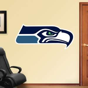 Seahawks Logo Vinyl Wall Graphic Decal Sticker Poster