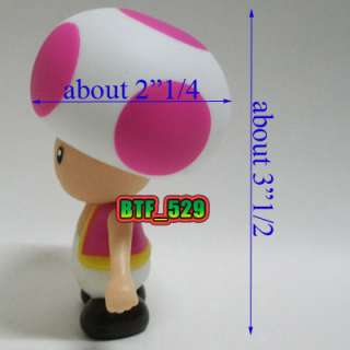 New Super Mario Brothers Action Figure (Purple Toad)