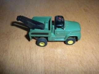 Vintage Aurora TJet International Tow Truck Wrecker Olive T Jet Slot