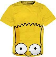 Bart Simpson Bart Face T Shirt sz Youth XL   18/20