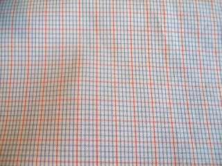 THOMAS PINK London Red White Blue LS SHIRT 17.5 34