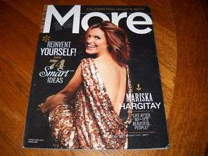 MORE MAGAZINE MARISKA HARGITAY FEB 2010 74 SMART IDEAS
