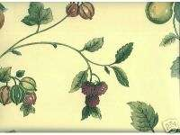 Thibaut Elegant Kitchen Fruits Corsica Yellow Wallpaper