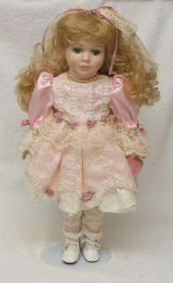 CONNOISS COLLECTION NEW OLD STOCK PORCELAIN DOLL 16 MONICA