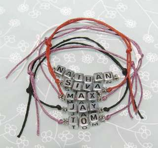 The Wanted Friendship Bracelet   5 Name Options   Nathan Tom Max Siva