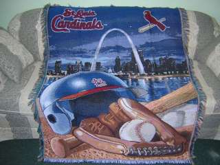 New 2011 World Series Champs Baseball St Louis Cardinals Throw Blanket