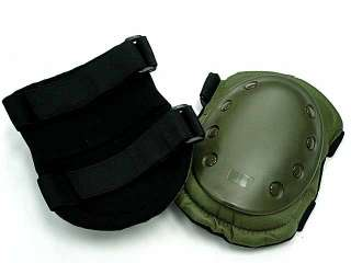 Tactical Bike Skateboard Paintball Knee & Elbow Pads OD