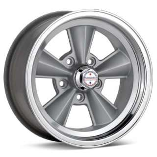 American Racing Authentic Hot Rod T70R (Silver w/Polished Lip)