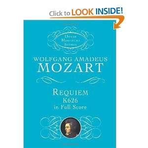 Requiem, K626, in Full Score (Dover Miniature Music Scores