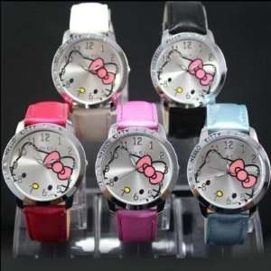 Hello Kitty Quartz Girls Ladies Wrist Watches 5pcs Pink White Black
