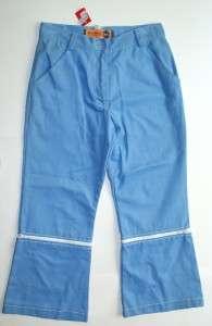New Breed Girl Blue Convert Capri Pants/shorts Size 5