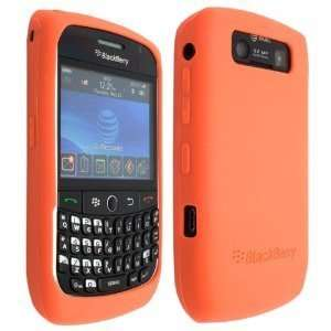 Orange Color High Quality Soft Silicone For Blackberry Curve 8900 Case