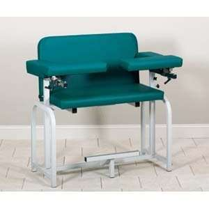 Extra tall & wide blood drawing chair with flip arms