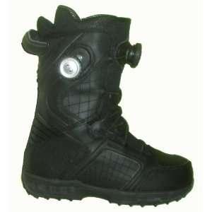 DC Judge Mens Boa Delta Liner Snowboard Boots Size 5 Black