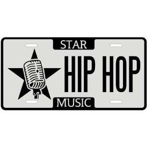 New  I Am A Hip Hop Star   License Plate Music