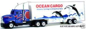HO Train Trains Ocean Cargo Big Rig Truck NEW IHC
