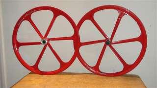 26 Mountain Bike Mag Wheels colours pair 6 spoke Disc
