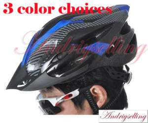 Bicycle Bike Adult Men Women Helmet Three Carbon colour