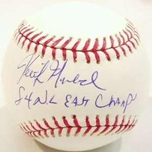 Keith Moreland Signed Rawlings MLB Baseball w/84 NL East