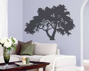 Big Tree Silhouette Home Decor Wall Mural Vinyl Decal