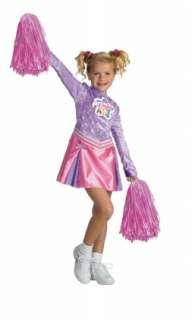 DISNEY Princess Cheerleader Child Costume Size 4 6x