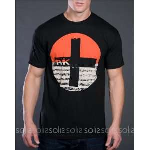 Tavik   Mens Circle Kross S/S Tee Shirt in Black MTS0463 BLK Tavik