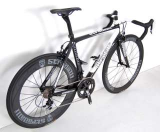 STRADALLI SRAM RED BLACK CARBON ROAD BIKE BICYCLE 50 cm