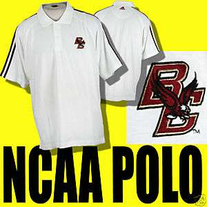 BOSTON COLLEGE EAGLES NCAA CAMPUS CLASSIC POLO SHIRT L