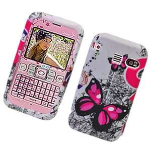 Pink Butterfly Design Soft Silicone Skin Tpu Gel Cover