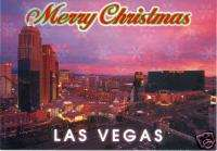Las Vegas Strip Casino Christmas Cards Boxed Holiday
