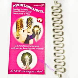 Sports Braider Magic Hair Styling Tool French Braids Twist Braid