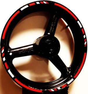 RIM STRIPES WHEEL DECAL TAPE STICKER SUZUKI DRZ 400 SM