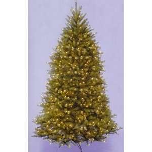 com 12 Dunhill Fir Pre Lit Artificial Christmas Tree   Clear Lights