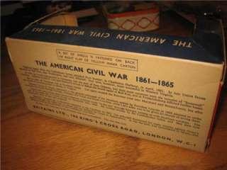 Britains LTD Herald Military American Civil War Confederate w Cannon