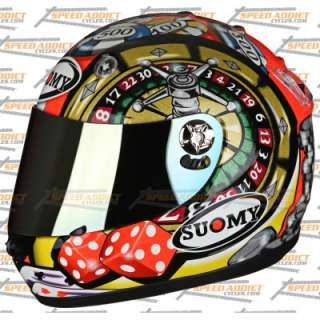 Suomy Vandal Atlantic City Gambler Full Face Helmet MD