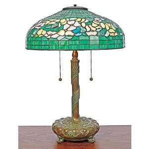 Quoizel Louis Tiffany Emerald Green Table Lamp