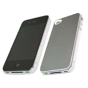 GREY Crystal/Hybrid Hard Case Cover Protector for Apple iPhone 4 4G HD