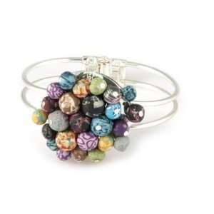 Viva Beads Festival Flat Custer Cuff Bracelet Jewelry