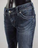 SILVER Jeans WHIP STITCHED SUKI Relaxed Boot Cut Mid Rise