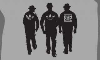 RUN DMC T SHIRT VINTAGE HIP HOP RETRO COOL SIZE XL