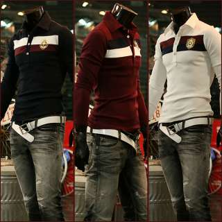 Casual Sports Wear Cotton Mens Top T Shirts White /SU HT303