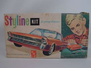 Vintage AMT Styline Ford Galaxie Hardtop Model Kit S121