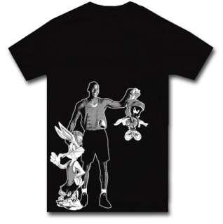 SPACE JAM JORDAN t shirt bugs bunny nba S M L XL 2XL