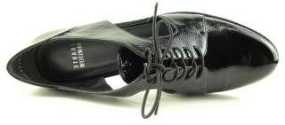 STUART WEITZMAN MANOMAN Black Womens Shoes Oxfords 8.5