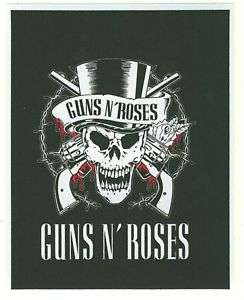 Guns and Roses Music car bumper sticker decal 4 x 5