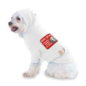 Diva Las Vegas Hooded (Hoody) T Shirt with pocket for your Dog