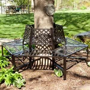 com Longwood Gardens Wrought Iron Tree Surround Patio, Lawn & Garden